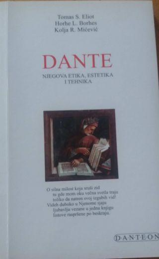 Dante, njegova etika, estetika i tehnika, T.S.Eliot